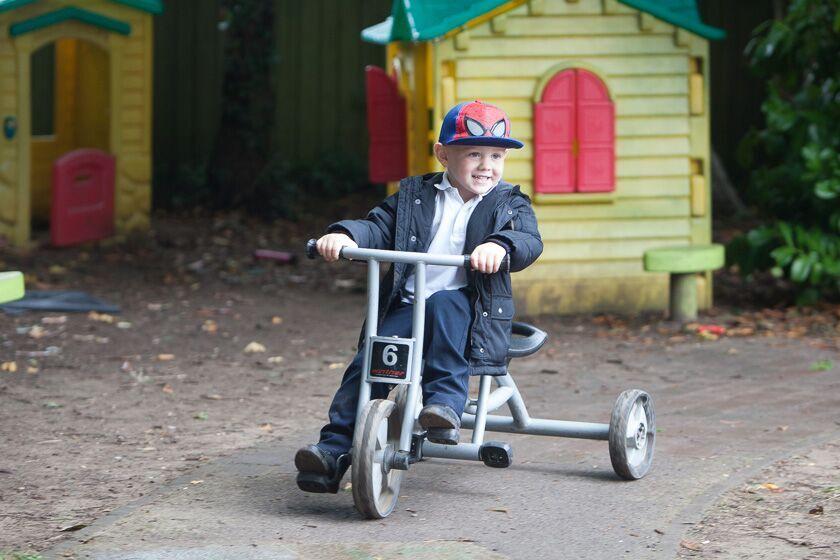 Tricycle at Weston Nursery & Pre-school