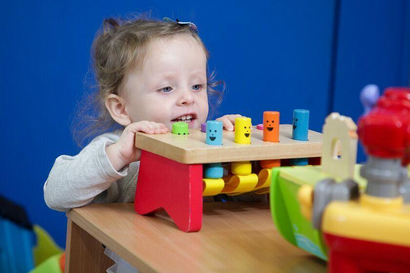 Playing at Gosport Nursery