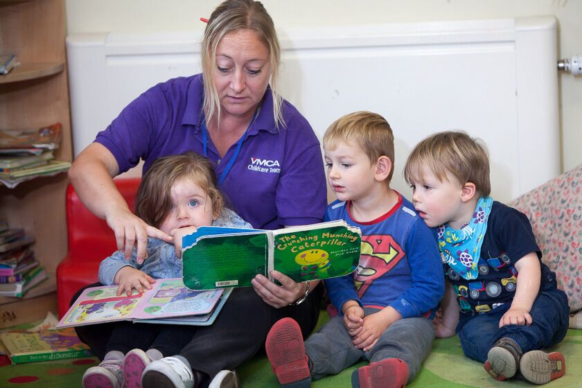 Reading at Whale Island Nursery
