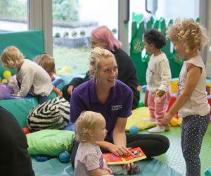 Playing at Portsea Nursery