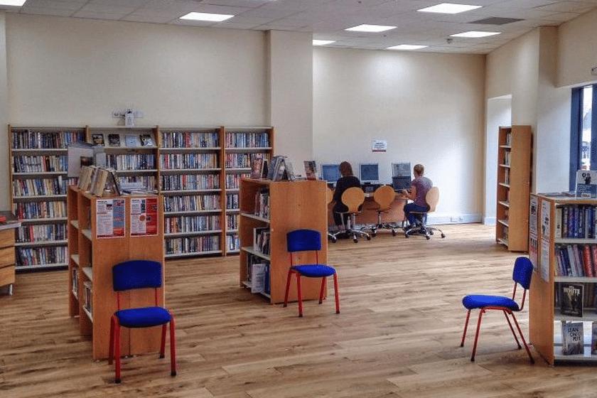 Inside Weston Library