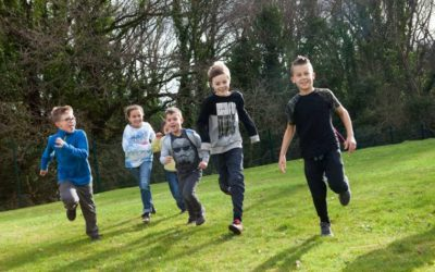 Kids running outside at one of the Southampton daycamps.Kids running outside at one of the Southampton daycamps.