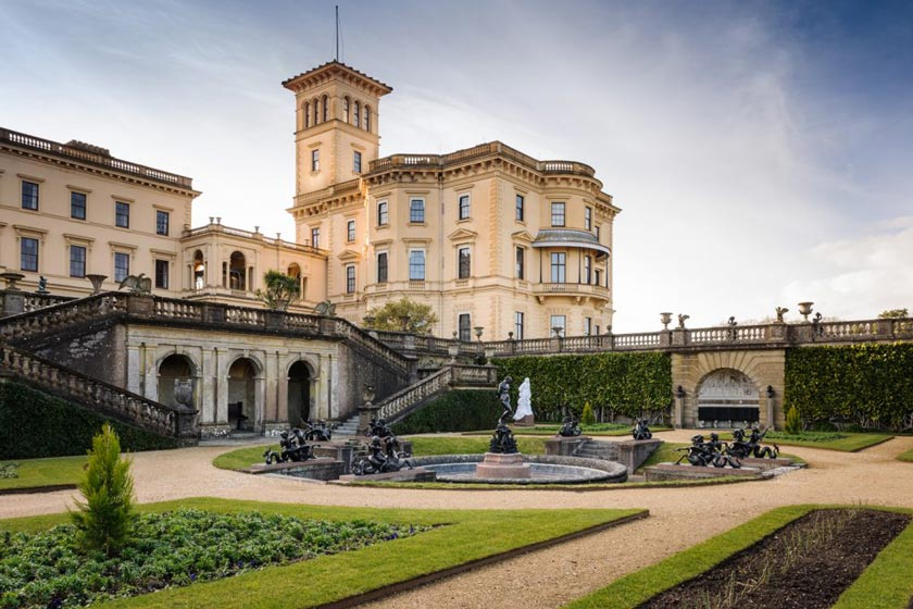 Osborne House, one of the sites you could visit during your stay at our Isle of Wight residential visits.