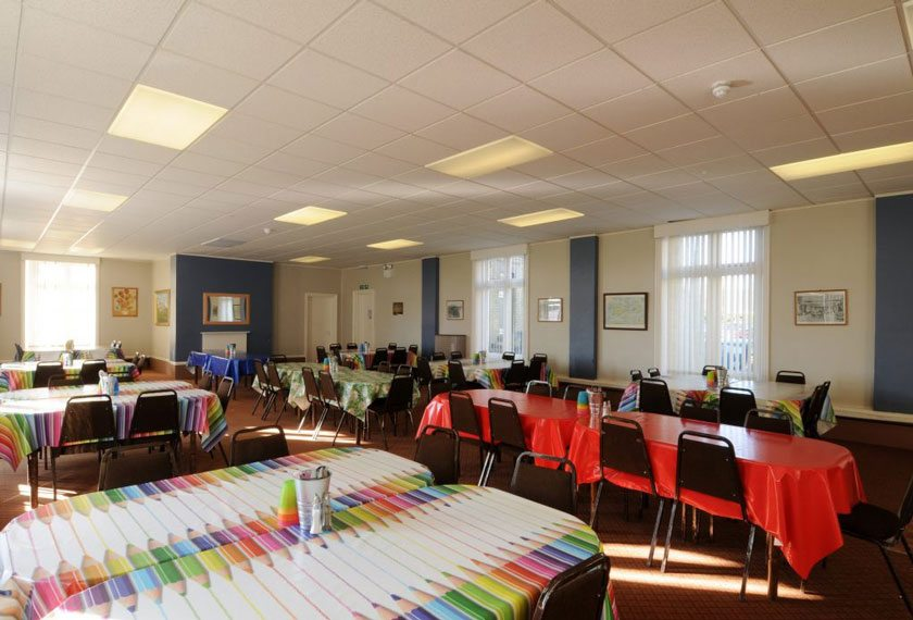 The dining room used for our Isle of Wight residential visits.