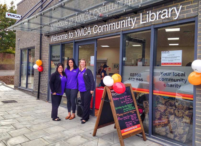 Staff at Weston Community Branch