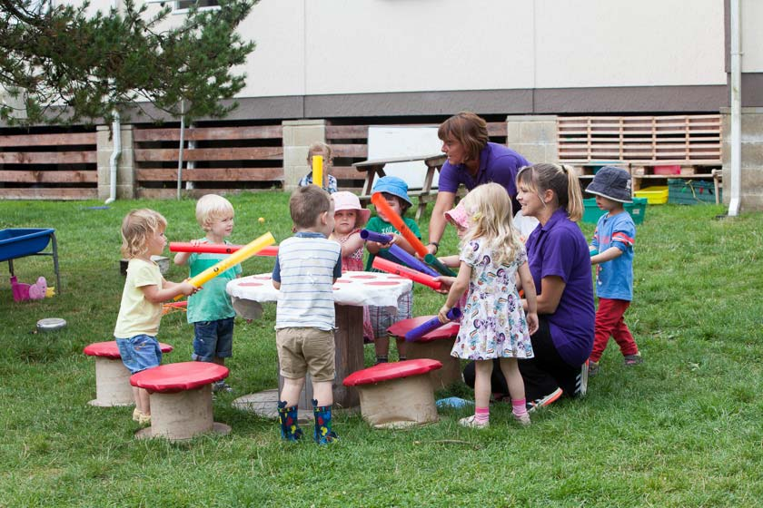 Nursery outdoor play